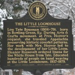 Little Loomhouse Highway Marker