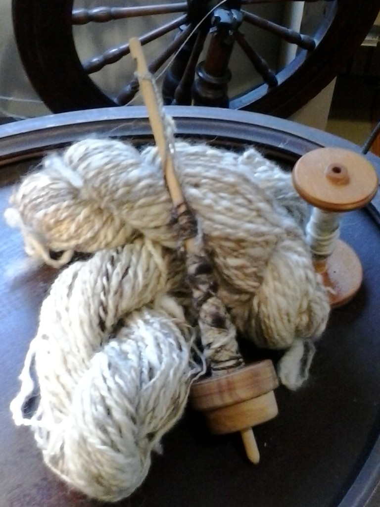 Spinning fiber into yarn